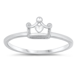 Silver Ring - Crown - $2.13
