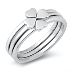 Silver Ring - Heart Puzzle - $7.36