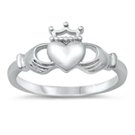 Silver Ring - Claddagh - $3.38