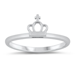 Silver Ring - Crown - $2.41