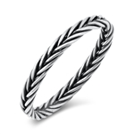 Silver Ring - Braid