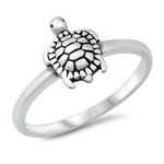 Silver Ring - Turtle - $2.67