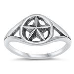 Silver Ring - Star - $4.77