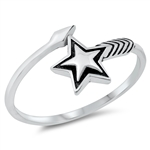 Silver Ring - Star - $2.69