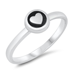 Silver Ring - Heart - $2.84