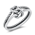 Silver Ring - Knots - $4.24