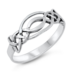 Silver Ring - Celtic -  $2.82