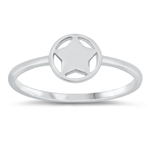 Silver Ring - Star - $2.06