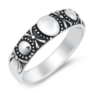 Silver Ring - Bali Style - $5.56