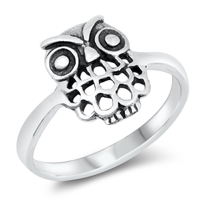 Silver Ring - Owl - $3.61