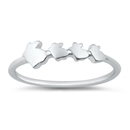 Silver Ring - Rabbits - $2.57