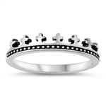 Silver Ring - Crown - $2.82