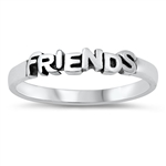 Silver Ring - Friends - $2.68