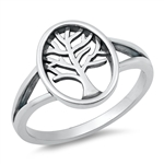 Silver Ring - Tree of Life - $4.93