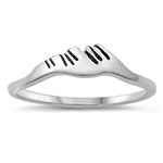 Silver Ring - Mountains - $2.41