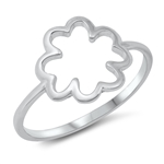 Silver Ring - Clover - $2.45