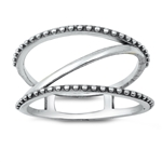 Silver Ring - Cage Ring - $4.09