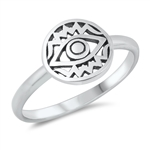 Silver Ring - All Seeing Eye - $2.77