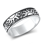 Silver Ring - Suns - $4.79