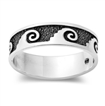 Silver Ring - Wave - $4.66