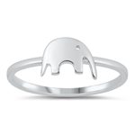 Silver Ring - Elephant - $2.66