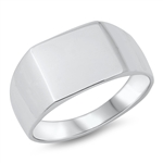 Silver Ring - Signet - $9.85