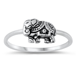 Silver Ring - Elephant - $3.95