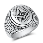 Silver Ring - Egyptian Symbol - $15.57