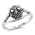 Silver Ring - Owl - $3.78