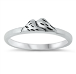 Silver Ring - Mountains - $2.74