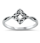 Silver Ring - Celtic - $2.84