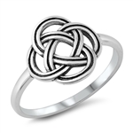 Silver Toe Ring - Celtic - $3.13