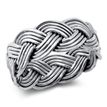 Silver Ring - Braid - $7.93