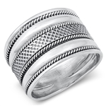 Silver Ring - Bali Style - $9.75
