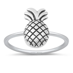 Silver Ring - Pineapple - $2.58