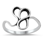 Silver Ring - Abstract - $2.75