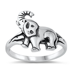 Silver Ring - Elephant - $4.15