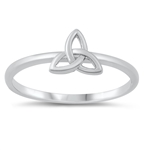 Silver Ring - Celtic Triquetra - $2.31