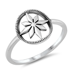Silver Toe Ring - Compass - $2.65