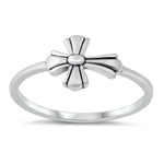 Silver Ring - Cross - $2.53