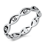 Silver Ring - All Seeing Eye - $2.68