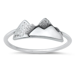 Silver Ring - Mountain - $2.92