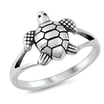 Silver Ring - Turtle - $3.52