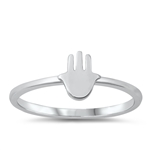 Silver Toe Ring - Hand - $2.35
