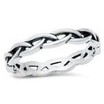 Silver Ring - Braid - $5.03