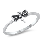 Silver Ring - Dragonfly - $2.09