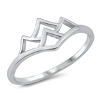 Silver Ring - Mountains - $2.59