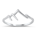 Silver Ring - Mountains - $2.21