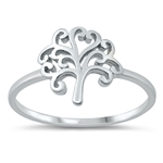 Silver Ring - Tree of Life - $2.90