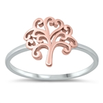Silver Ring - Tree of Life - $3.55